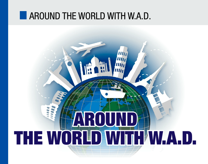 AROUND THE WORLD WITH W.A.D.